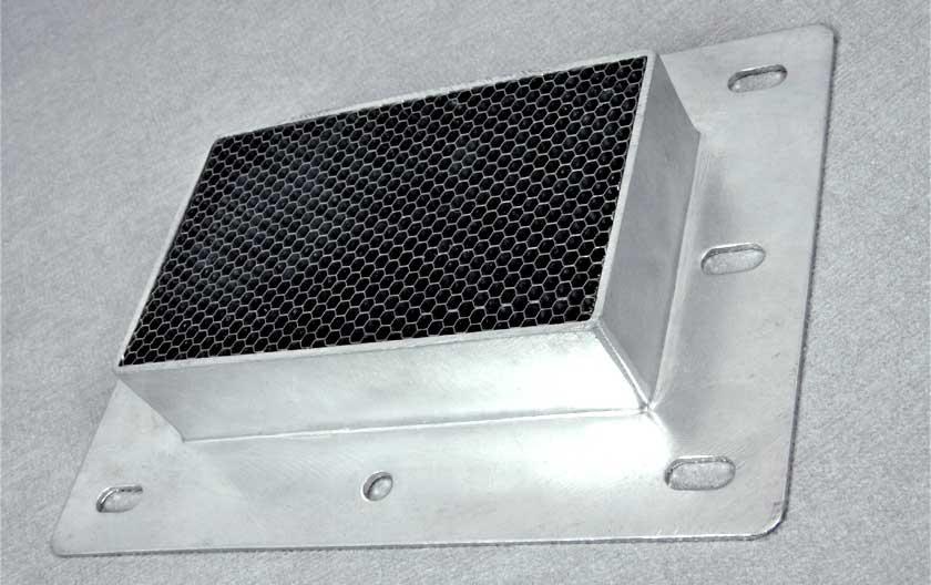 EMP-Lüftungsgitter aus Stahl