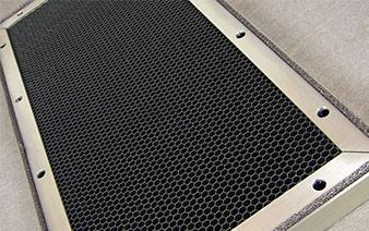 EMI-Lüftungsgitter aus Aluminiumwaben