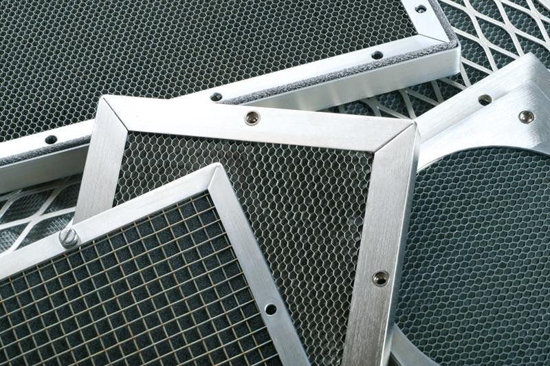 EMI-Lüftungsgitter aus Aluminium