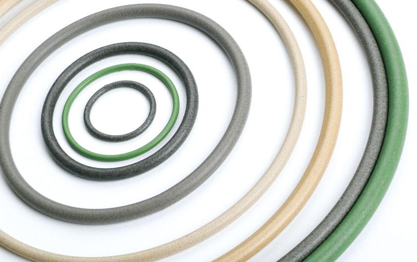 O-ringe aus leitfähigen Elastomeren